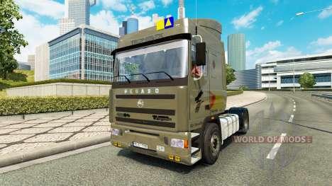 Pegaso Troner TX 400 v2.1 para Euro Truck Simulator 2