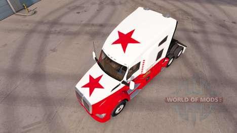 República de California de la piel para el Kenwo para American Truck Simulator