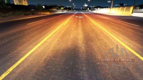 De oro de la luz roja para American Truck Simulator