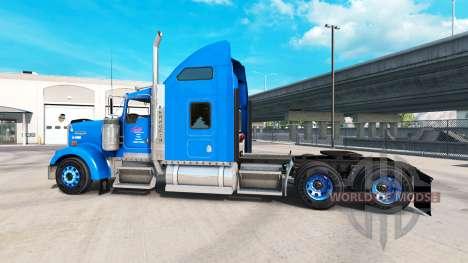 La piel en Carlile Kenworth W900 tractor para American Truck Simulator