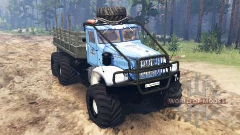 KrAZ-214 v3.0 para Spin Tires