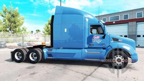 Carlille de la piel para el camión Peterbilt para American Truck Simulator