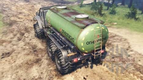 Ural-4320-10 De Tunguska para Spin Tires