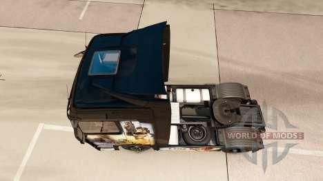 Luis Royo piel para Mercedes Benz camión para Euro Truck Simulator 2
