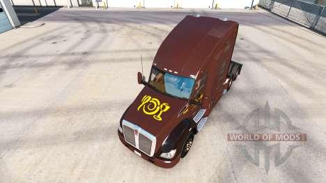 La piel de Wegmans en los tractores Peterbilt y  para American Truck Simulator