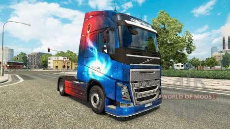 Galaxy pieles para camiones Volvo para Euro Truck Simulator 2