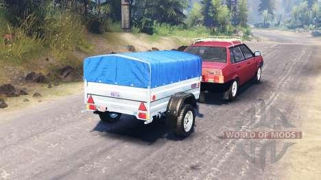 VAZ 21099 para Spin Tires