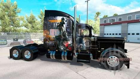 La piel de La División para el camión Peterbilt  para American Truck Simulator