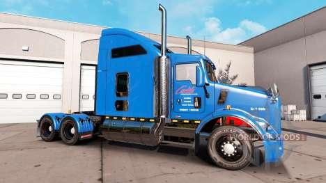 Carlile piel para Kenworth T800 camión para American Truck Simulator