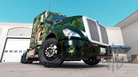 Depredador de la piel para el Peterbilt y Kenwor para American Truck Simulator