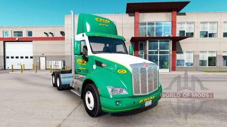 La piel OHare de Remolque para camiones y Peterb para American Truck Simulator