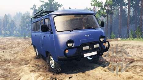 UAZ-2206 para Spin Tires