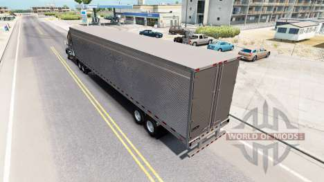 Cromado reefer remolque para American Truck Simulator