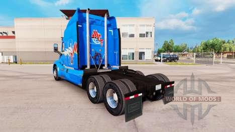 La piel MVT para camión Peterbilt para American Truck Simulator