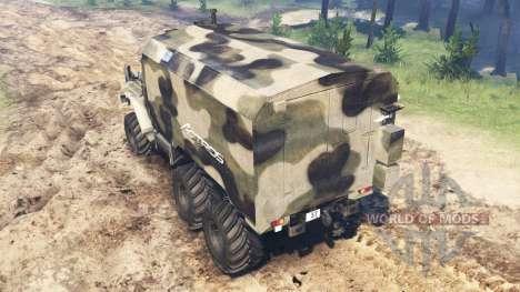 Ural-375 para Spin Tires