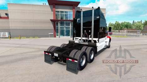 Netstoc Logistica de la piel para el camión Pete para American Truck Simulator