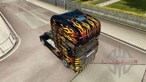 La llama de la piel para Scania camión para Euro Truck Simulator 2