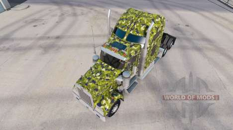 La piel del Ejército de Camuflaje en el camión K para American Truck Simulator