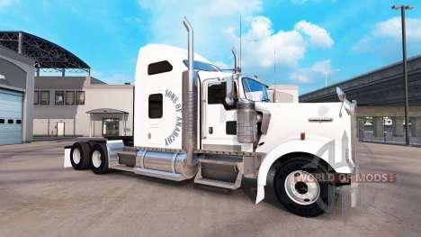La piel de los Hijos de la anarquía en el camión para American Truck Simulator