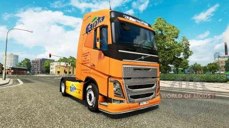 Fanta piel para camiones Volvo para Euro Truck Simulator 2