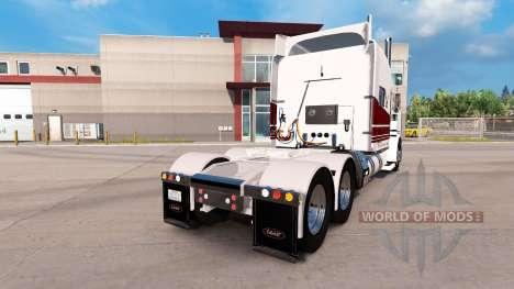 La Costa oeste de la piel para el camión Peterbi para American Truck Simulator