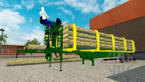 Un camión semi-remolque para Euro Truck Simulator 2
