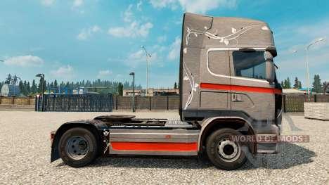 La piel Monstera para Scania camión para Euro Truck Simulator 2