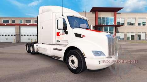 La piel de Kmart para Peterbilt y Kenworth camio para American Truck Simulator