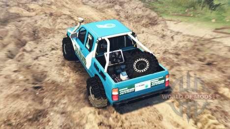 Ford 4x4 para Spin Tires