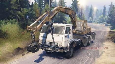 KamAZ 55102 [loader] para Spin Tires