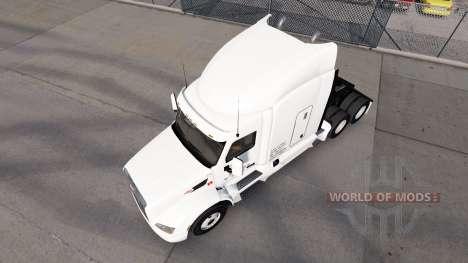 Daybreak Express de la piel para el camión Peter para American Truck Simulator