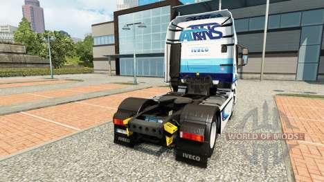 Ital trans de la piel para Iveco tractora para Euro Truck Simulator 2