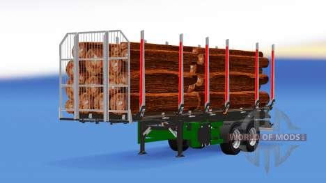 Camión Semi-remolque para American Truck Simulator