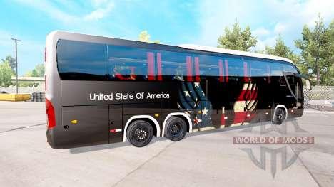 La piel de estados UNIDOS en el tractor Mascarel para American Truck Simulator