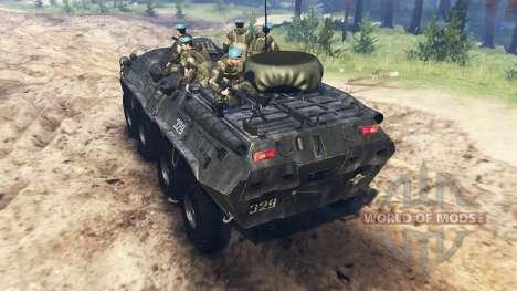 BTR-80 para Spin Tires