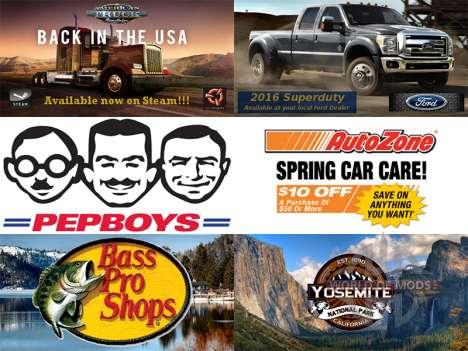 La nueva publicidad en vallas publicitarias para American Truck Simulator