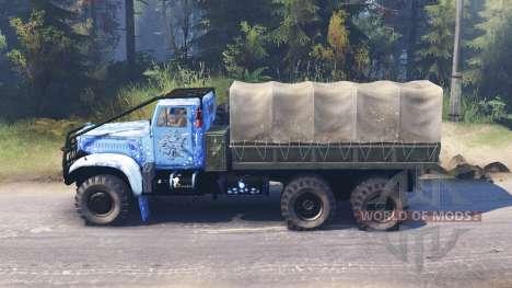 Kraz-214 para Spin Tires