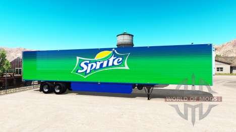 Internacional de pieles para remolques para American Truck Simulator