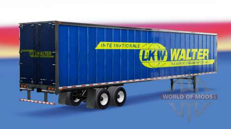 All-metal semi-CAMIÓN Walter para American Truck Simulator