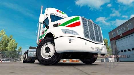 Consildated de la piel para el camión Peterbilt  para American Truck Simulator