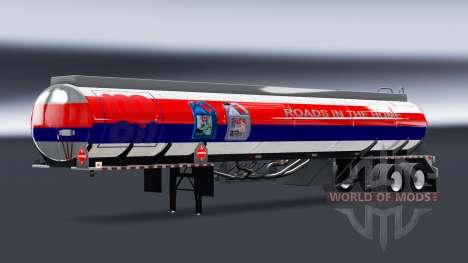 Las pieles de las empresas de combustible para s para American Truck Simulator