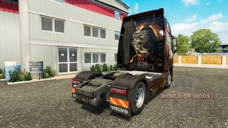 Egipto Reina de la piel para camiones Volvo para Euro Truck Simulator 2