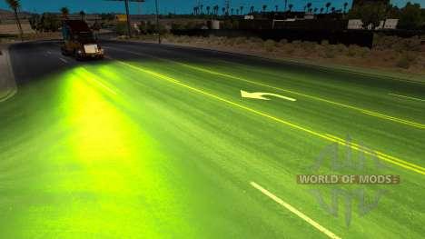 Herbácea xenons para American Truck Simulator
