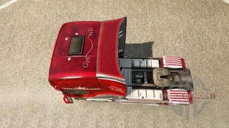 La piel del Rey de la Carretera en el tractor Sc para Euro Truck Simulator 2