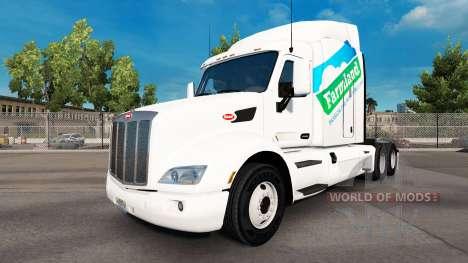 La piel en las Tierras de cultivo tractor Peterb para American Truck Simulator