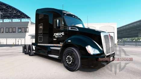 La piel JonBams en un Kenworth tractor para American Truck Simulator