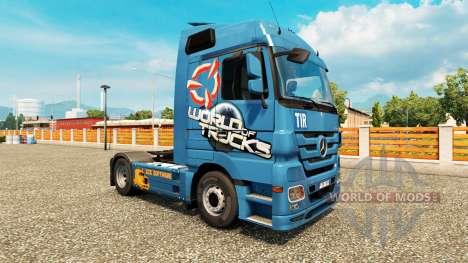 La piel del Mundo De Camiones para camiones para Euro Truck Simulator 2