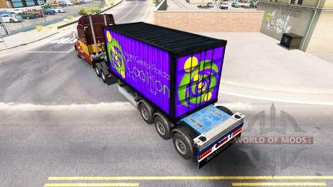 Semirremolque Norte Central De La Coalición De F para American Truck Simulator
