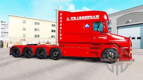 A. Krabbendam de la piel para camión Scania T para American Truck Simulator