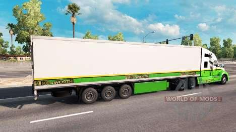Piel de Oro de la Edición tractor Kenworth para American Truck Simulator